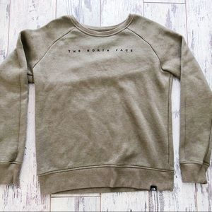 The North Face crewneck sweatshirt